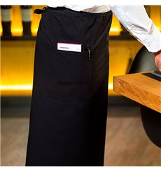 Grenmbiule alla francese 2 Tasche Nero 90x110cm (20 Pezzi)
