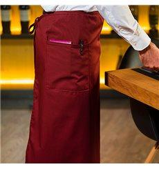 Grenmbiule alla francese 2 Tasche Bordeaux 90x110cm (20 Pezzi)