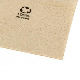 """Tovagliolo di Carta Eco """"Recycled"""" 20x20cm 2C (100 Pezzi)"""