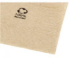 """Tovagliolo di Carta Eco """"Recycled"""" 20x20cm 2C (6000 Pezzi)"""