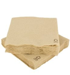Tovagliolo di Carta Ecologicas 30x30cm 1C (100 Pezzi)