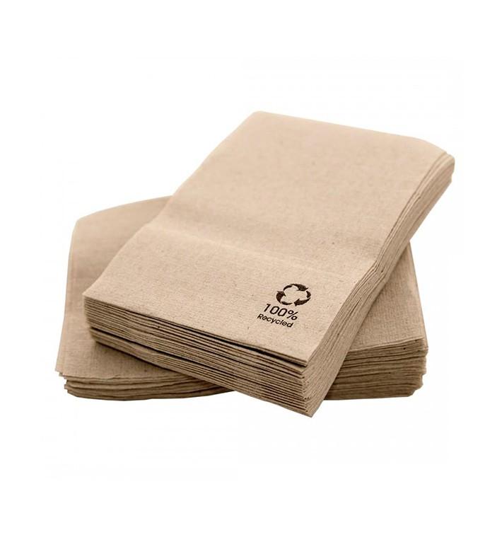 Tovagliolo di Carta Ecologici Kraft 17x17cm (14.000 Pezzi)
