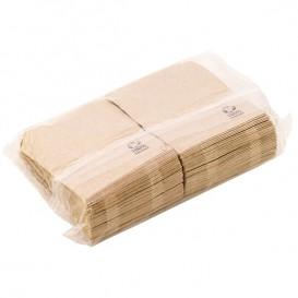 Tovagliolo di Carta Eco Kraft 17x17cm (200 Pezzi)