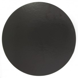 Disco di Carta Nero 220 mm (100 Pezzi)