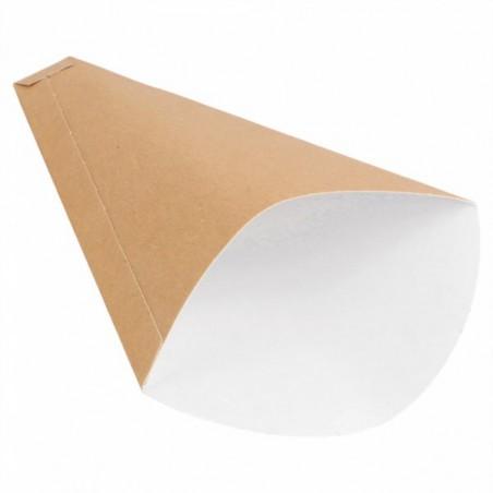 "Cono di Carta ""Crêpes"" 12x2,5x19cm 300g/m2 (2000 Pezzi)"