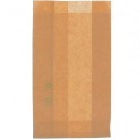 Sacchetto per Hamburger Antigrasso Kraft 12+6x20cm (250 Pezzi)