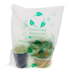 Sacchetti Plastica Block 100% Biodegradabile 30x40cm G50 (300 Pezzi)