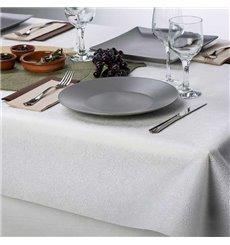 Tovaglia Non Tessuto PLUS Bianco 120x120cm (150 Pezzi)