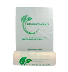 Rotoli sacchetti plastica Bio senza manici 22x37cm (3000 Pezzi)