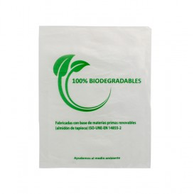 Sacchetti Plastica 100% Biodegradabile 16x24cm (5000 Pezzi)