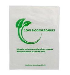 Sacchetti Plastica 100% Biodegradabile 30x40cm (100 Pezzi)