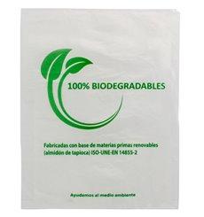 Sacchetti Plastica 100% Biodegradabile 35x48cm (100 Pezzi)