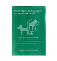 Sacchetto per escrementi per cani 100% bio 18x26cm (5000 Pezzi)