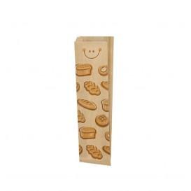 "Sacchetto di Carta Kraft ""Panes"" 9+3x51cm (125 Pezzi)"