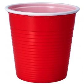 Bicchiere di Plastica PS Rosso 230 ml (690 Pezzi)