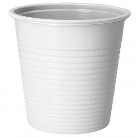 Bicchiere di Plastica PS Bianco 230 ml (690 Pezzi)