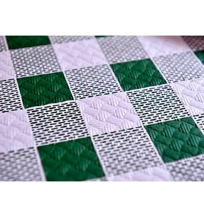 """Tovaglia di Carta Taglio 1,2x1,2m """"Quadro Verdes"""" 40g (300 Pezzi)"""