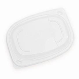 Coperchio Transparente Contenitori 400/600ml 190x140x20mm (20 Pezzi)