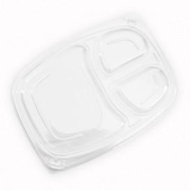 Coperchio Transparente Contenitori 3SC 1050/1250ml 255x189x20mm (320 Pezzi)