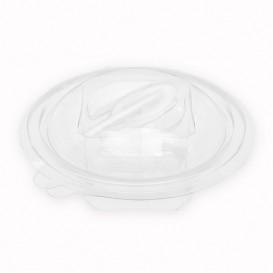 Insalatiera Tonda Coperchio APET con Cucchiaio 150ml Ø120mm (420 Pezzi)