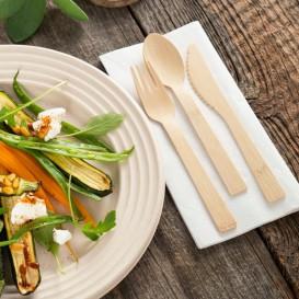 Forchetta di Bamboo 17cm (50 Pezzi)