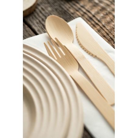 Forchetta di Bambu 16cm (50 Pezzi)