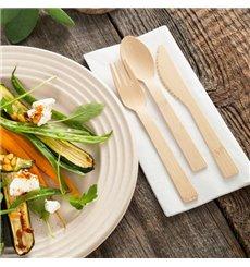 Cucchiaio di Bambu 17cm (50 Pezzi)