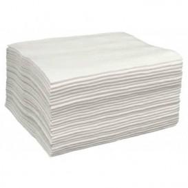 Asciugamani in Spunlace Bianco 40x80cm 43g/m² (25 Pezzi)