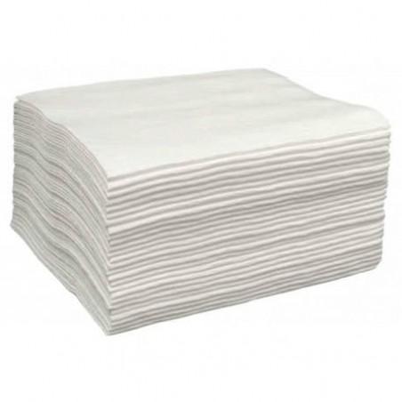 Asciugamani in Spunlace Bianco 30x40cm (2000 Pezzi)