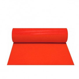 Tovaglia Rotolo Non Tessuto 1x50m 50g Rosso (6 Uds)