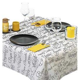 """Tovaglia di Carta Taglio 1,2x1,2m """"Buon Appetito"""" 37g (300 Pezzi)"""