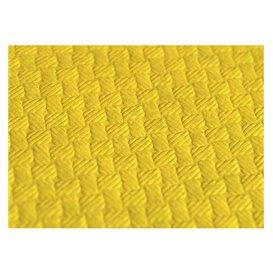 Tovaglia di Carta Taglio 1x1 Metro Giallo 40g (400 Pezzi)