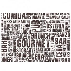 """Tovaglietta di Carta 30x40cm """"Gourmet"""" 40g (1.000 Pezzi)"""
