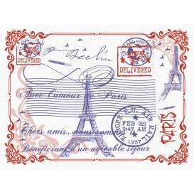 """Tovaglietta di Carta 30x40cm """"Paris"""" 40g (1.000 Pezzi)"""