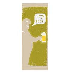 """Busta per Posate con Tovaglioli """"I Love Beer"""" (125 Pezzi)"""
