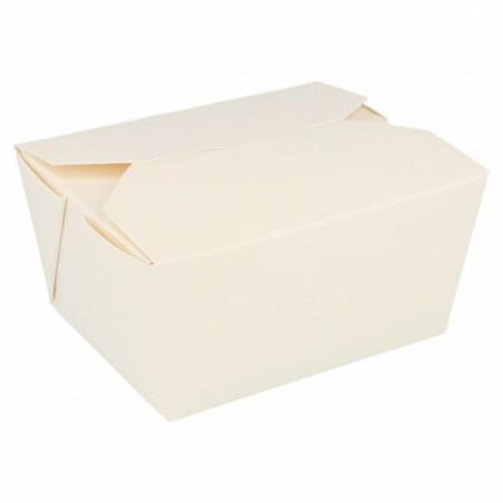Contenitore di Cibo Bianco 11,3x9x6,4cm 780ml (450 Pezzi)