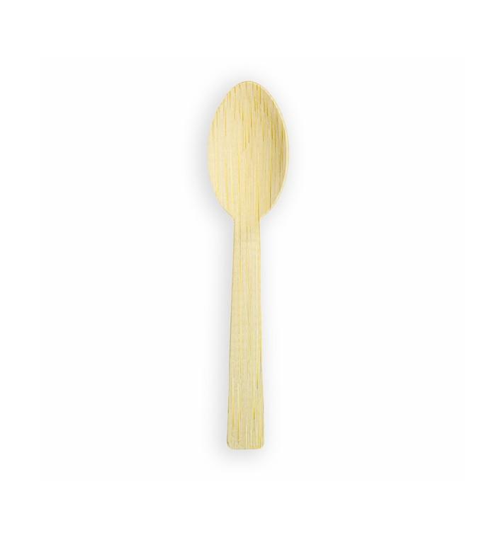 Cucchiaio di Bamboo 17cm (50 Pezzi)