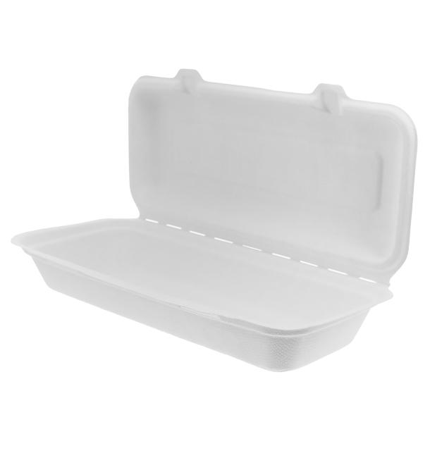Contenitori Canna Zucchero Bianco 290x273x37,5mm (200 Pezzi)