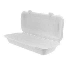 Contenitori Canna Zucchero Bianco 290x273x37,5mm (50 Pezzi)