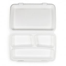 Contenitori Canna Zucchero Bianco 3S 380x483x61,5mm (50 Pezzi)
