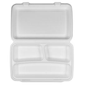 Contenitori Canna Zucchero Bianco 3S 380x483x61,5mm (100 Pezzi)