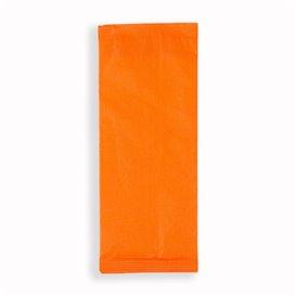Busta per Posate con Tovaglioli Arancio (125 Pezzi)