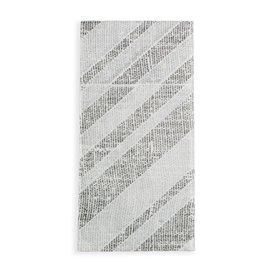 Tovagliolo Portaposate di Carta 40x40cm Barlovento Nero (30 Pezzi)