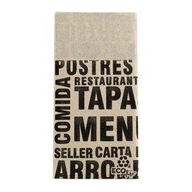 Tovagliolo Portaposate di Carta 40x40cm Gourmet (30 Pezzi)