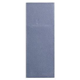 Tovagliolo Portaposate di Carta 30x40cm Cow Boys Blu (1200 Pezzi)