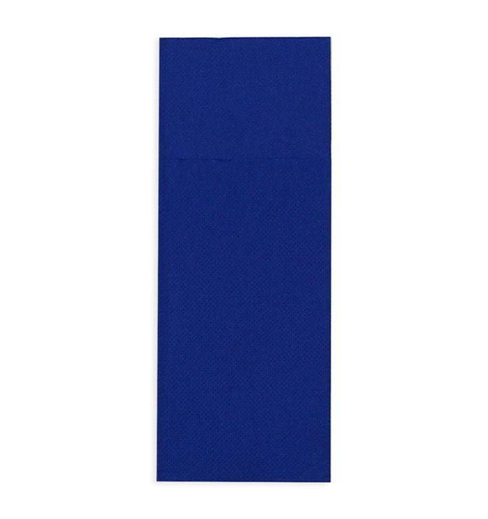 Tovagliolo Portaposate di Carta 30x40cm Blu (30 Pezzi)