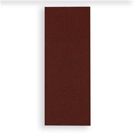 Tovagliolo Portaposate di Carta 30x40cm Marron (30 Pezzi)