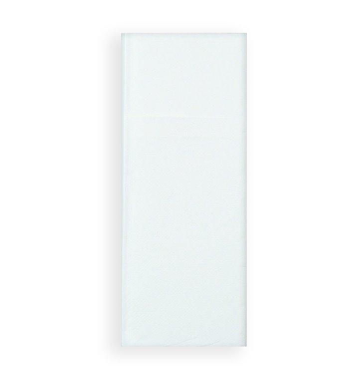 Tovagliolo Portaposate di Carta 30x40cm Bianco (30 Pezzi)