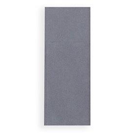 Tovagliolo Portaposate di Carta 30x40cm Grigio (30 Pezzi)