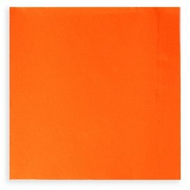 Tovagliolo di Carta Cocktail 20x20cm Arancione (6.000 Pezzi)